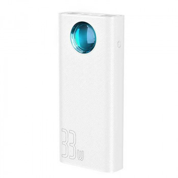 Внешний аккумулятор Baseus Amblight Quick Charger Power Bank (PPLG-02) PD3.0+QC3.0 30000mAh
