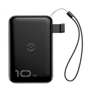 Внешний аккумулятор Baseus Mini S Bracket Wireless Charger Power bank 10000mAh 10W