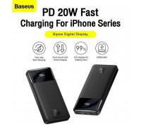 Baseus 20W Bipow Digital Display Power Bank 10000 mah, QC3.0 + PD 20w (PPDML-L01) black