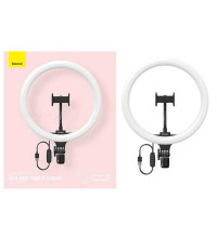 Baseus Live-Stream Holder-Floor Stand 12-inch Light Ring, 30см (CRZB12-B01) black