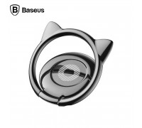 Baseus Cat Ear Ring Bracket на палец (SUMA-01) черный