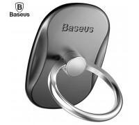 Baseus Multifunctional Ring Bracket на палец, гладкий пластик (SUMR-01) черный