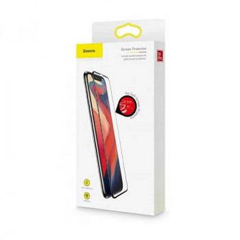 Защитное стекло Baseus  Pet Soft Anti-Bluelight Curved Screen Tempered Glass Protector для iPhone X/XS (SGAPIPHX-KB01)
