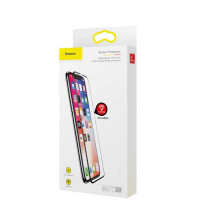 Защитное стекло Baseus Rigid-edge curved-screen Anti-Bluelight Tempered Glass Screen Protector  0.3mm для iPhone X, XS (SGAPIPHX-KF01)