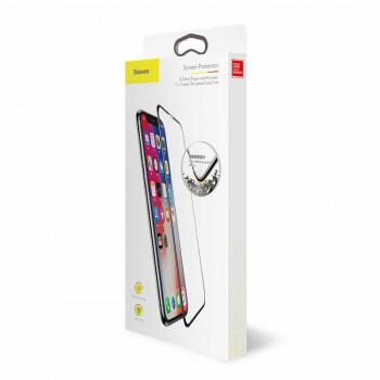 Защитное стекло Baseus Drop-proof Curved Full Screen Tempered Glass Film для iPhone X, XS (SGAPIPHX-RA01) 0.23 mm