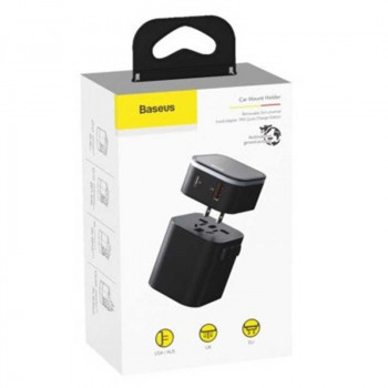 Сетевое зарядное устройство Baseus Removable 2in1 Universal Travel Adapter PPS Quick Charger Edition (TZPPS-01)