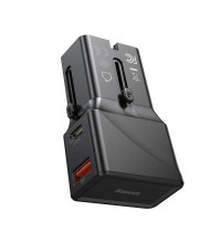 Baseus Universal Conversion Plug PPS Charger C+U 18W (CCTY-01) black