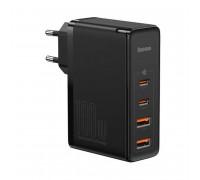 Baseus GaN 2 Pro Quick Charger 2C+2U, 100w max, USB QC 60w, PD 100w, CCGAN100UE (CCGAN2P-L01) black