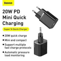 Baseus Super Si Quick Charger 1C 20W EU (CCSUP-B01) black