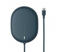Baseus Light Magnetic Wireless Charger, QI 15W, support iP12 Series (WXQJ-03) dark blue