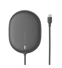 Baseus Light Magnetic Wireless Charger, QI 15W, support iP12 Series (WXQJ-01) black
