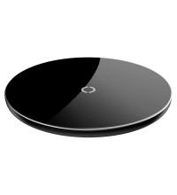 Baseus Simple Wireless Charger, QI output 5W / 7.5W / 10W, кабель 8pin 1.2m (CCALL-JK01) black