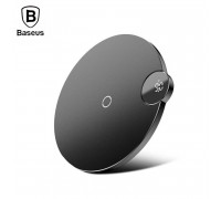 Baseus Digital LED Display Wireless Charger, Qi 15W, model BSWC-P21 (WXSX-01) black