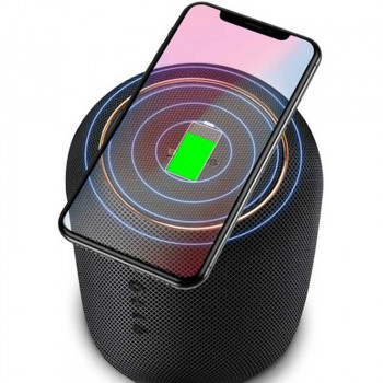 Беспроводная зарядка + Bluetooth колонка Baseus Encok Wireless charging Bluetooth speaker E50