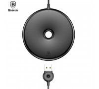 Baseus Q Donut Wireless Charger, QI output 10W, кабель 1m (WXTTQ-01) black