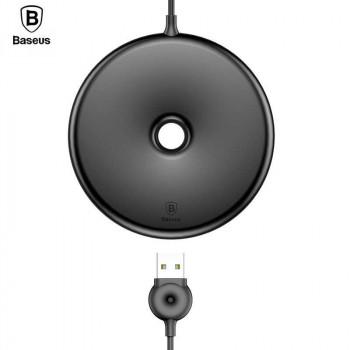 Беспроводное зарядное устройство Baseus Donut Wireless Charger Black