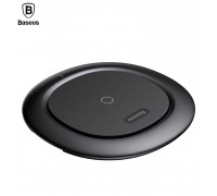 Baseus UFO Desktop Wireless Charger, QI output 10W, кабель microUSB 1m (BSWC-07) black