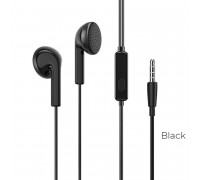 Borofone BM40 Sage Universal Earphones with mic, кабель 1.2м, black