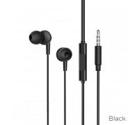 Borofone BM49 Player Universal Earphones with mic, кабель 1.2м, black