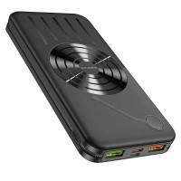 Borofone BJ7 Prospect 10000 mAh Fully Compatible Wireless Fast Charging Power Bank, black