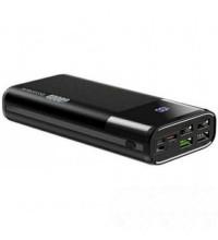 Borofone DBT01 40000mah PD Fast Charge Mobile Power Bank, L+M+C input, LED,  black