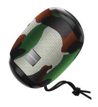 Borofone BR6 Miraculous Sport Wireless Speaker, IPX5, TF, USB, AUX input, FM, зеленый камуфляж