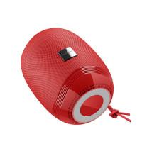 Borofone BR6 Miraculous Sport Wireless Speaker, IPX5, TF, USB, AUX input, FM, red