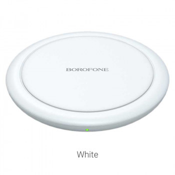 Borofone BQ6 Boon Wireless Charger, QI 15w, white