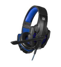 Defender Warhead G-390 Gaming Headset, провод 1.8м