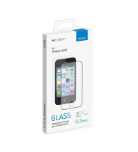 Deppa iPhone 4/4S Tempered Glass, 0.3mm