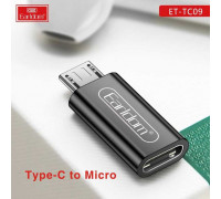 Earldom ET-TC09 Type C to Micro Adapter, silver