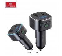 Earldom ET-M52 Wireless FM Car MP3 Transmitter, USB+ Type-C, 30W, black