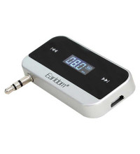 Earldom M14 Music and Talk FM Transmitter, black