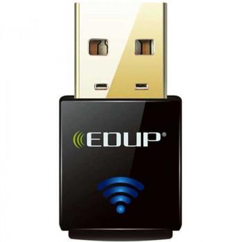 Адаптер беспроводной Edup Wi-Fi USB 300Mbps (EP-N1557)