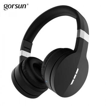 Беспроводные наушники Gorsun E88 Wireless Bluetooth Stereo Headset Black со встроенным MP3/FM плеером