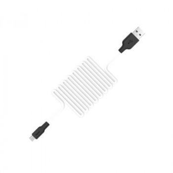 Hoco X21, microUSB, 1m, 2A, white