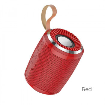 Hoco BS39 Cool Sports Wireless Speaker, red
