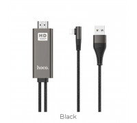 Hoco UA14 Ligtning to HDMI cable adapter, 2m, black