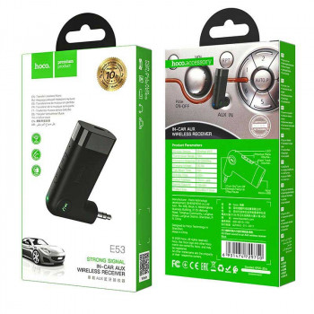 Hoco E53 Dawn sound AUX Wireless Receiver, black