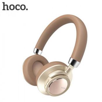 Беспроводные наушники Hoco W10 Cool Yin Wireless Headphone Gold