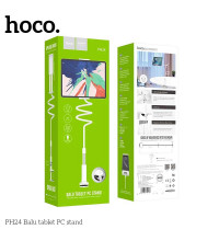 Hoco PH24 Balu tablet PC stand, на стол,  для планшета (PH24) white with silver