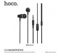 Hoco M34 Honor Music Earphones, black