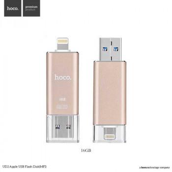 Внешний накопитель HOCO UD2 Flash Drive USB3.0 MFI 16 Gb для Apple iPhone, iPad (Lightning)