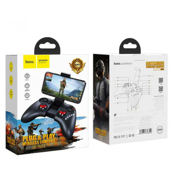 Hoco GM3 Continuos play gamepad, геймпад, black