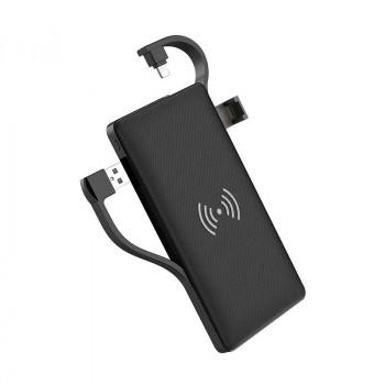 Внешний аккумулятор Hoco S10 wireless charging mobile power bank 10000mAh