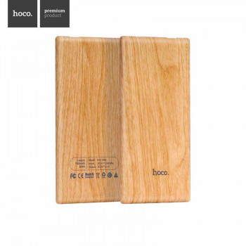HOCO B10 Wood Grain Power Bank 7000mAh