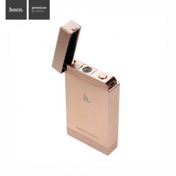 Hoco B2 4000 Lighter Style Power Bank 4000 mAh Golden