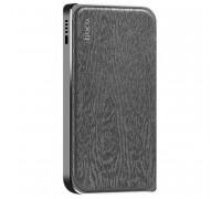 Hoco B14 8000mah Leather Surface Power Bank Cloth Grain (B14-8000) black