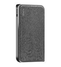 Hoco B14 8000mah Leather Surface Power Bank Cloth Grain (B14-8000) black