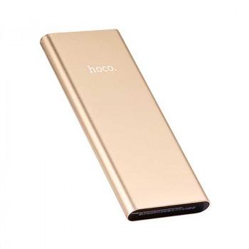 Hoco B16 10000mah Metal surface Power Bank (B16-10000) gold